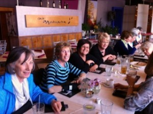 AAUW Funds - Fundraiser at Cafe Montemartre - Spring 2013