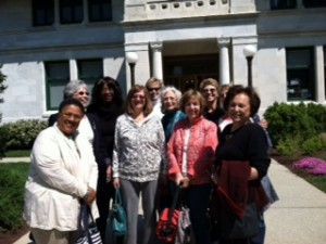 Cultural Event - Visit to Lincoln's Cottage.  April, 2013